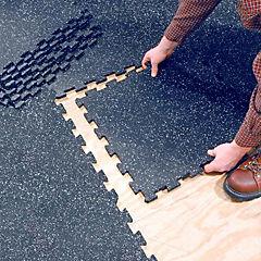 Plancha epdm puzzle gym 5mm azul