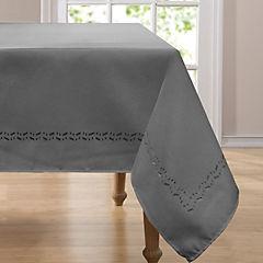 Mantel cuadrado 160x160 cm gris