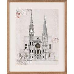Cuadro 43x53 cm catedral I