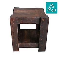 Mesa lateral bento nogal oscuro