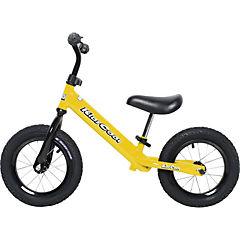 Bicicleta metal amarillo