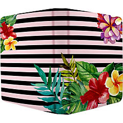 Funda tablet floral stripes 7-8''