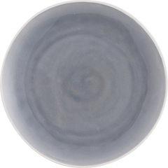 Plato esmaltado gris 27 cm