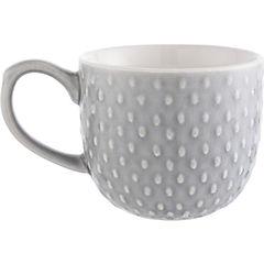 Mug textura gris 400 ml