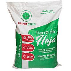 Tierra de hoja 40 litros/20 kilos reforzada