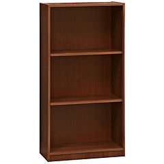 Librero 60x30x120 madera aglomerada/melamina color tabaco
