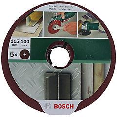 Fibro disco 115mm, grano 100