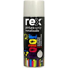 Pintura spray metálico 400 ml plata