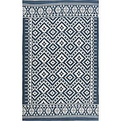 Alfombra Aztec azul 150x240 cm