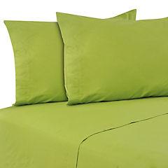 Sabanas 144 hilos Lisa king verde