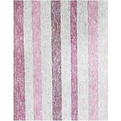 Mantel rectangular rayas 160x240 cm rosado