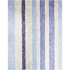 Mantel rectangular linea 180x280 cm azui