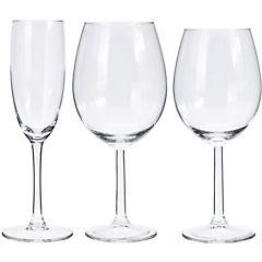 Juego copas de vidrio 18 piezas