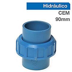Unión americana PVC presión 90mm cementar