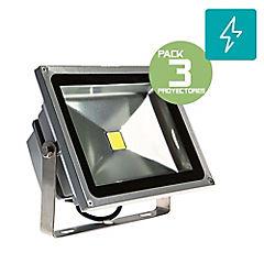 Pack 3 foco proyector de area 250W 2250lm
