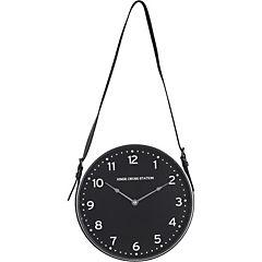 Reloj muro 30,5 cm con correa