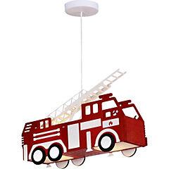 Lámpara colgar niño carro bomba 2x40 W