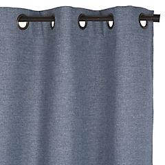 Cortina tolten 140x220 cm azul/gris