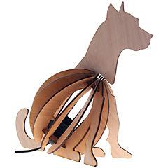 Lámpara sobremesa 3d perro