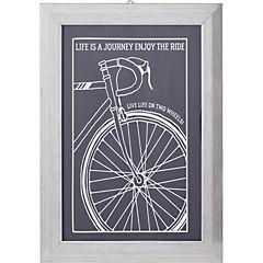 Cuadro rueda Bicicleta 35x25cm