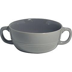 Bowl cereal gris 15x9,8 cm