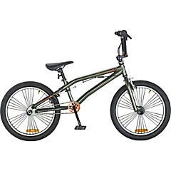 Bicicleta 20 freestyle verde semi mate