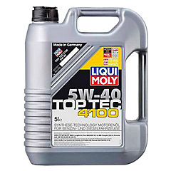 Aceite 5w40 5 l top tec 4100