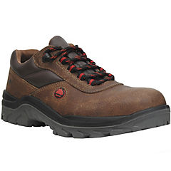 Zapato de seguridad PU Passat Low café N°44