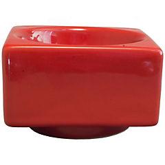 Cenicero Milán 11 cm rojo