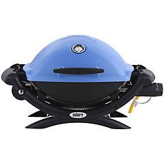 Parrilla a gas portátil Q1200 azul 1 quemador