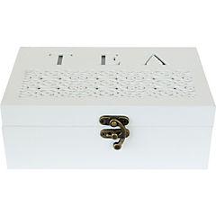 Caja para té 12x19 cm Blanca