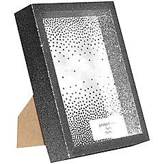 Marco 13x18 cm con Purpurina  Plateado