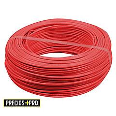 Cable thhn plus 12 awg rojo rollo 100 ml