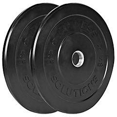 Par disco olímpico caucho 5 kilogramos