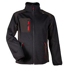 Chaleco negro/rojo talla XL