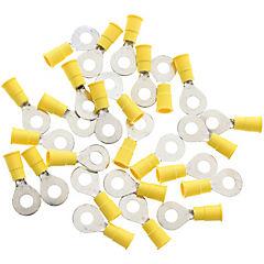 Terminal ojo 6,7 mm 10-12 awg amarillo