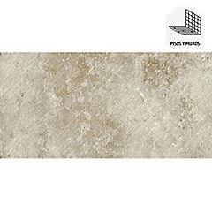 Porcelanato todo masa 37,5x75 cm ámbar 1,69 m2