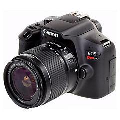 Cámara eos rebel t6 + lente ef-s 18-55 mm f/3.5-5.6