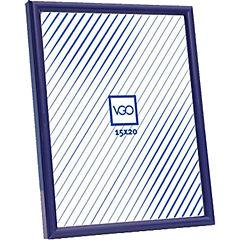 Marco plástico 15x21 cm azul