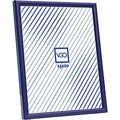 Marco plástico 10x15 cm azul