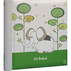 Album de fotos elefante Infatil 13x19 cm 200 fotos verde