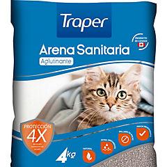 Arena sanitaria para gatos 4 kilos
