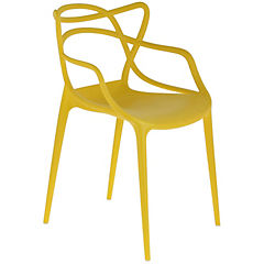 Silla polipropileno 54x53x84 cm amarillo