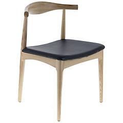 Silla madera 81.5x61x57 cm sin brazos negro