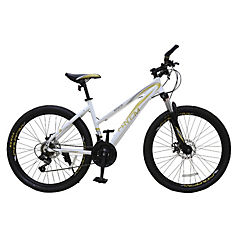 Bicicleta 26 MTB Lady Disc blanca