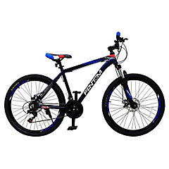 Bicicleta 26 MTB Disco negro/azul