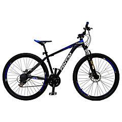 Bicicleta 29 MTB TK600 negro/azul