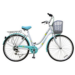 Bicicleta 26 City Bike blanca