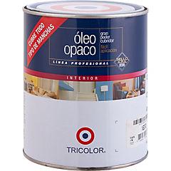 Óleo Profesional Opaco 1/4 galón Negro