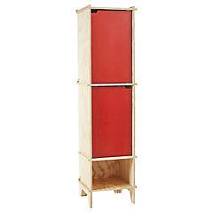Closet 40x45x170 cm rojo